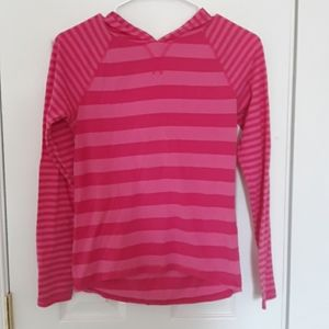 5 for 10, girls hooded shirt, size 14